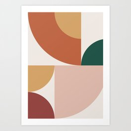 Abstract Geometric 13 Art Print