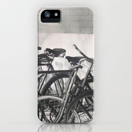Vintage Bicycles iPhone Case