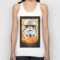 stormtrooper Tank Tops featuring Stormtrooper by Mishel Robinadeh