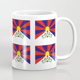flag of thibet,བོད,tibetan,asia,china,Autonomous Region,everest,himalaya,buddhism,dalai lama Coffee Mug