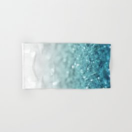 MERMAID GLITTER - MERMAIDIANS AQUA Hand & Bath Towel