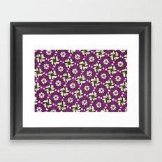 Carnations Framed Art Print