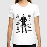 derek hale T-shirts featuring Derek Hale Quotes Teen Wolf by Alice Wieckowska