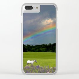 Reflecting Rainbows of Color Clear iPhone Case