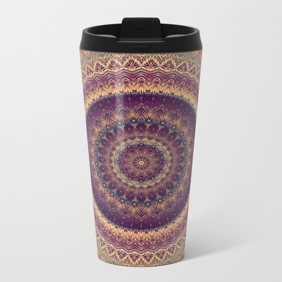 Mandala 541 Metal Travel Mug