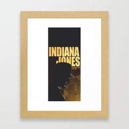 The Lost Treasure of Tanis: Indiana Jones Framed Art Print