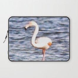 Just Like A Flamingo Laptop Sleeve