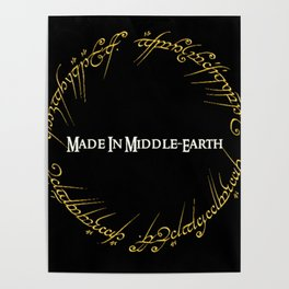 Made In MiddleEarth Poster