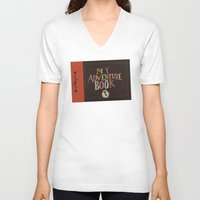 ellie goulding V-neck T-shirts featuring my adventure book.. up, carl and ellie by studiomarshallarts