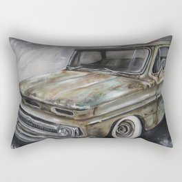 Crossroads Chevy Rectangular Pillow