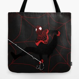 Ultimate Spider-man Miles Morales Tote Bag