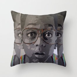 Urkel Throw Pillow