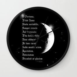 Carmina Burana-O Fortuna, Imperatrix Mundi-Carl Orff-Classical Music Wall Clock