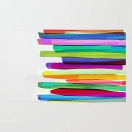 Colorful Stripes 2 Rug