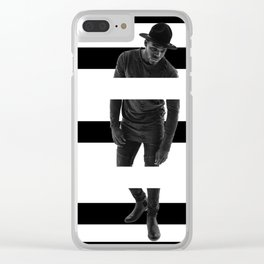 never let me down Clear iPhone Case