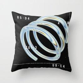 R5 -D4 Throw Pillow