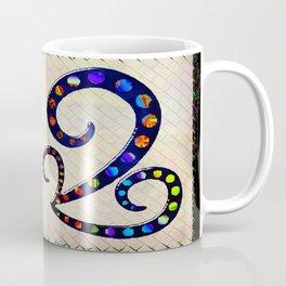 Mexican Sugar Skull Folk Art Coffee Mug