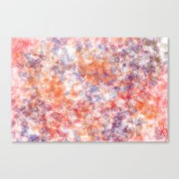 sprinkles Canvas Prints featuring Sprinkles by Flavia Dacol