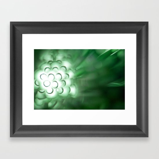 {jade} Framed Art Print