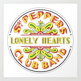 Sgt. Peppers Art Print