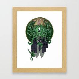 Eye of Cthulhu Framed Art Print