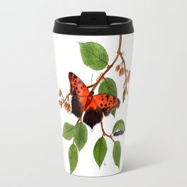 Questionmark Butterfly Travel Mug