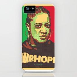 Ms.Rapsody ( HIP-HOPE Series ) iPhone Case