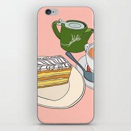 Aftenoon Cake Treat iPhone Skin