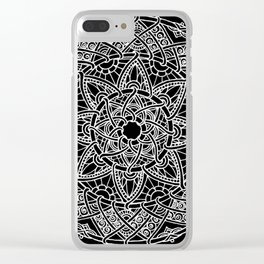 Family: forever intertwined (black) Clear iPhone Case