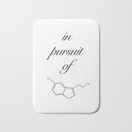 in pursuit of happiness Bath Mat