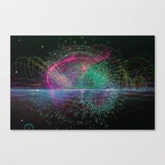 Information Diving Canvas Print