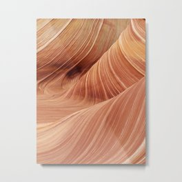 The Waves of the Coyote Buttes Metal Print
