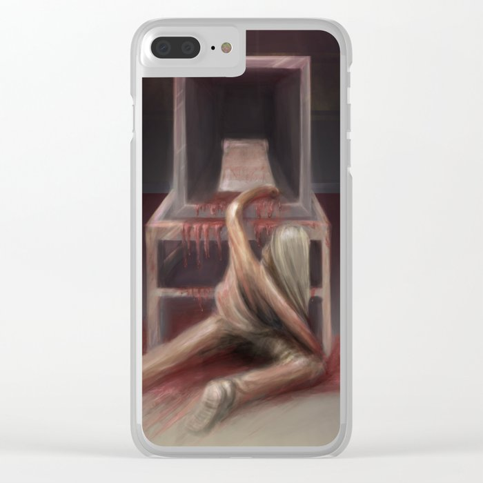 SCP-012 - a bad composion Clear iPhone Case