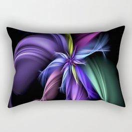Fractual Flower Rectangular Pillow