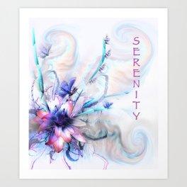 Serenity serenity Art Print