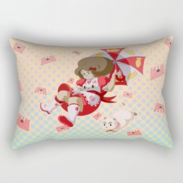 Bee and Puppycat Rectangular Pillow