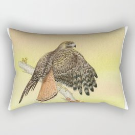 Red-tailed hawk Rectangular Pillow