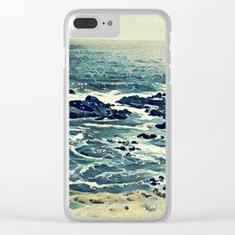 Coast of Australia Clear iPhone Case