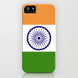 India flag emblem iPhone Case
