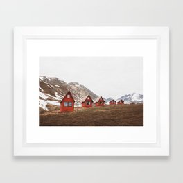 Hatcher Pass Framed Art Print