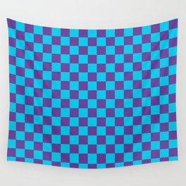 Checkered Pattern III Wall Tapestry