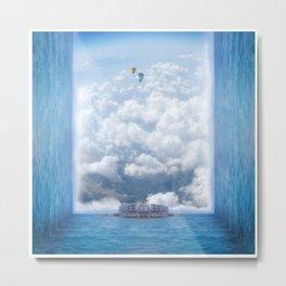 Sky Pier Metal Print