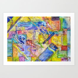 My Mondrian Art Print