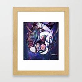 IWAOI in SPACE  Framed Art Print