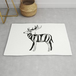 Lost in Its Own Existence (Deer) Rug