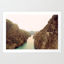 Beas River Art Print