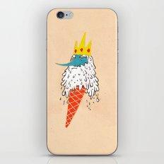 Ice king as an ice cream  iPhone Skin