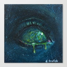 When the Universe Cries Canvas Print