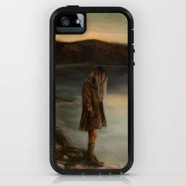 Something About Silence iPhone Case