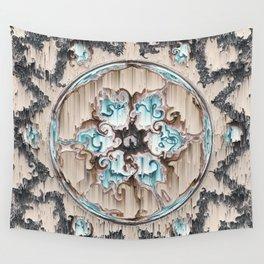 Melting Labradorites Wall Tapestry